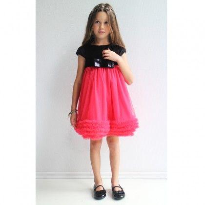 Velvet and Tulle Dresshttp://www.alexandalexa.com/innocence-black-velvet-and-pink-tulle-dress