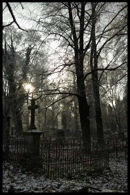 Old Cemetery in Lodz