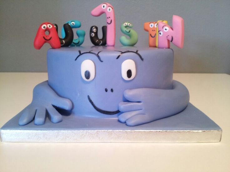 Barbapapa birthday cake