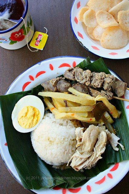 Nasi Liwet Solo - Indonesian food