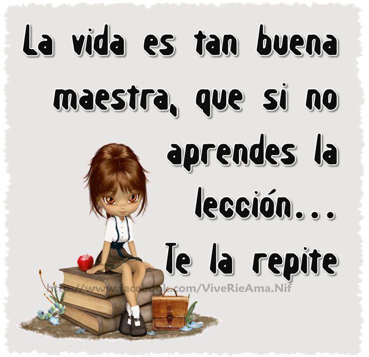 La vida.... ✭Teresa Restegui http://www.pinterest.com/teretegui/ ✭