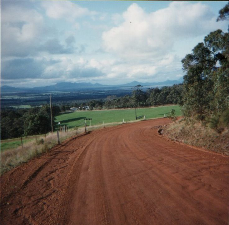 """David (sugarbag1) Woodlands Road, 1980's Photo taken in Porongurup WA 6324, Australia 34° 40' 0.73"""" S 117° 50' 4.22"""" E Google Panoramio Uploaded on May 17 2009 © All Rights Reserved"""