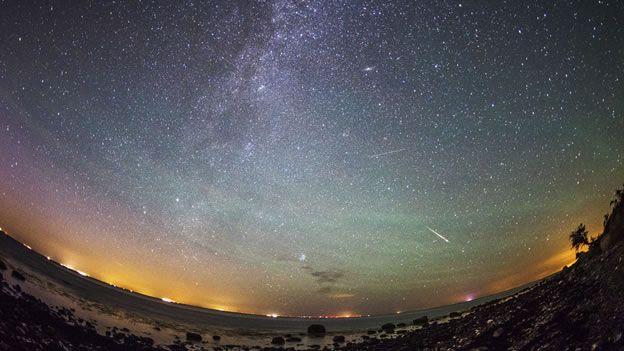 Así se vio la lluvia de estrellas Perseidas - Ecoportal.net