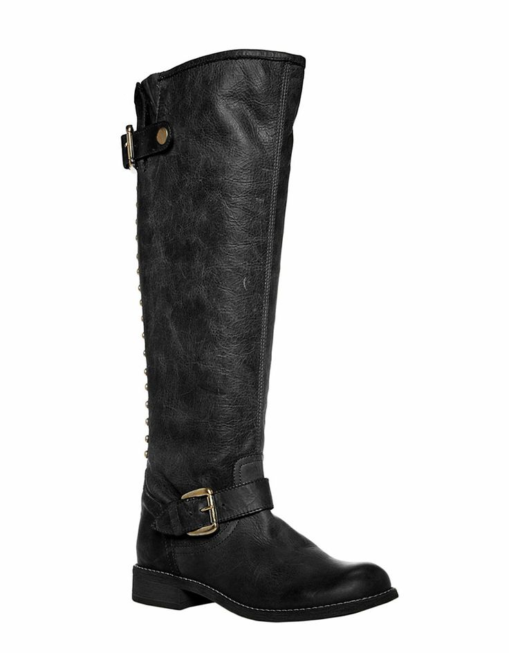 Shoes | Boots | Lynet Leather Knee-High Boots | Lord and Taylor