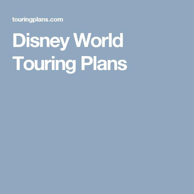 Disney World Touring Plans
