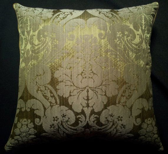 Throw Pillow Cushion Cover Rubelli Fabric Silk by OggettiVeneziani