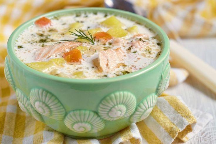 Сочетание рыбы и молока кажется несколько необычным, однако финский рыбный суп, по праву, занимает лидирующие позиции в традиционной кухне: нежный, сливочный, согревающий, - так и хочется добавки!