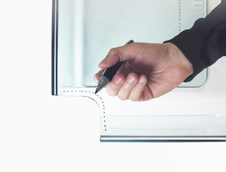 'Foulard' design Studio Klass for FIAM Italia - Prototype