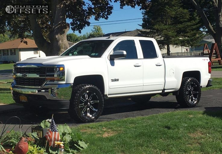 2016 Chevrolet Silverado 1500 Red Dirt Road Thunder Rough Country Leveling Kit