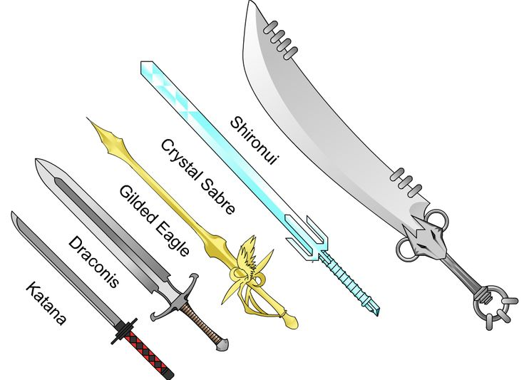 really cool swords