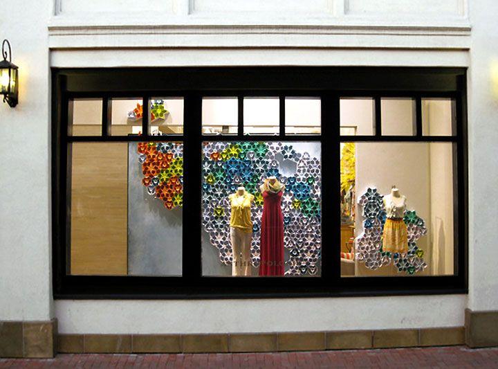Anthropologie window displays visual merchandising vm for Anthropologie pinterest