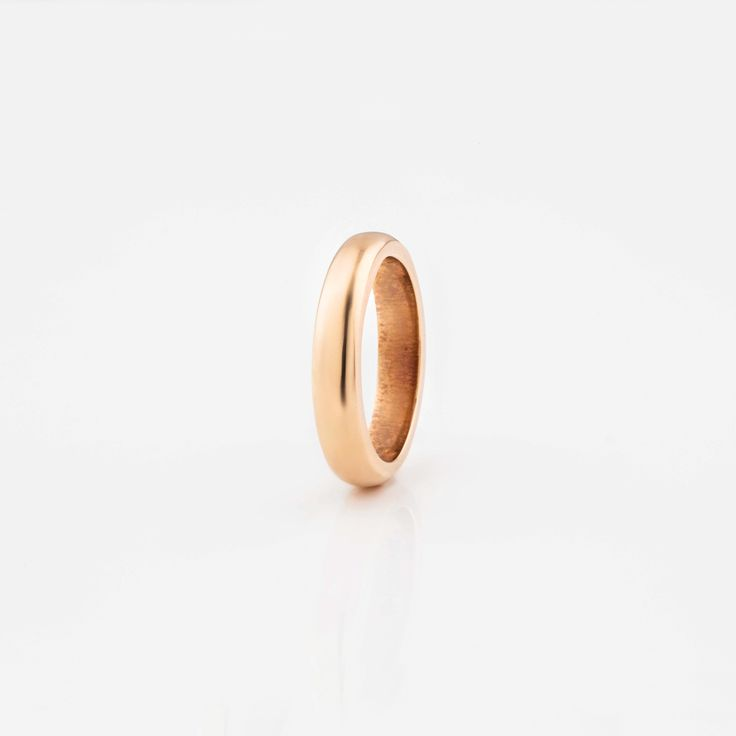 #miglio Stacking Ring - Classic stacking ring in Rose Allure - www.miglio.com
