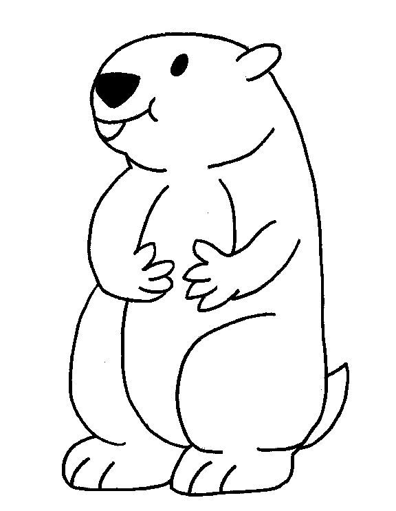 Print Groundhog Day Coloring Pages In 2020 Groundhog Day