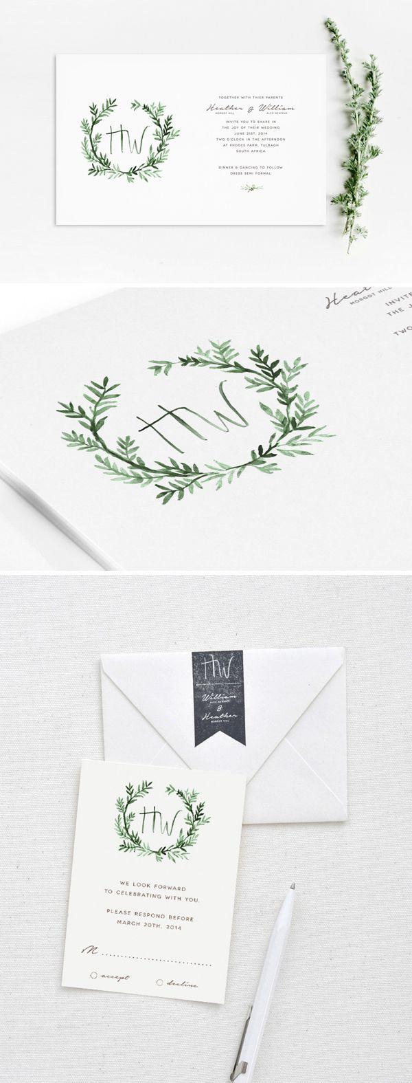 into the woods wedding invite by arabellajune #weddinginvitation