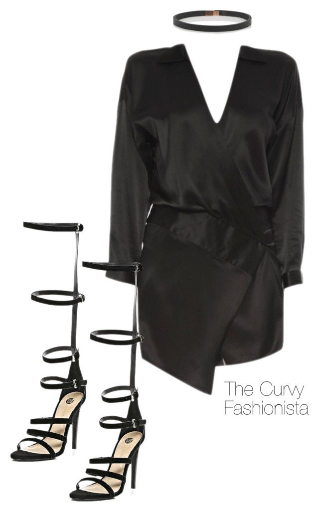 """Untitled #893"" by thecurvyfashionistaa ❤ liked on Polyvore featuring River Island and Wendy Nichol"