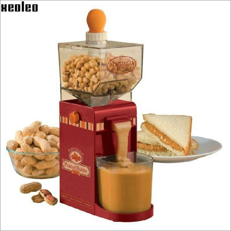 Hogar fabricante de mantequilla de Maní mantequilla De Maní máquina de hacer mantequilla De Maní fresadora 220 V AU/EU/EE.UU./REINO UNIDO de Molienda Amoladora Pequeña