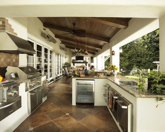GREAT outdoor kitchenIdeas, Patios Design, Kitchens Design, Dreams Kitchens, Outdoor Living, Outdoor Kitchens, Outside Kitchens, Porches, Outdoor Spaces