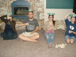 Minute To Win It Party - would be awesome for an older child's birthday party (or for grown ups too!)