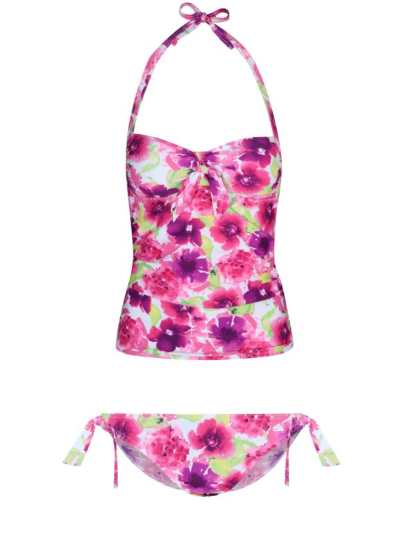 Floral Watercolour Tankini