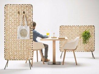 Wooden Room Divider Zumit Alki