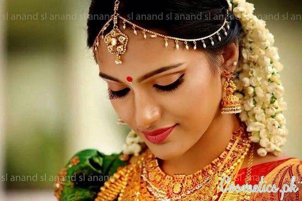 Latest Indian Bridal Eye Makeup 2015 - Golden