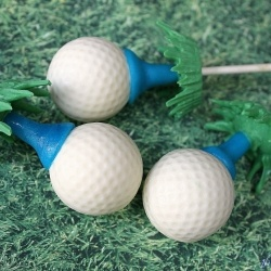 Golf Ball Beer Cake – Cake Pops [Recipe]