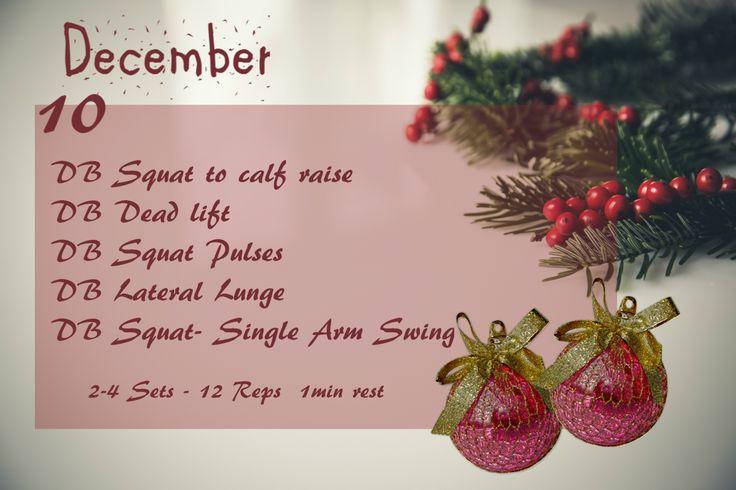 December Fitness Challenge-Day 10