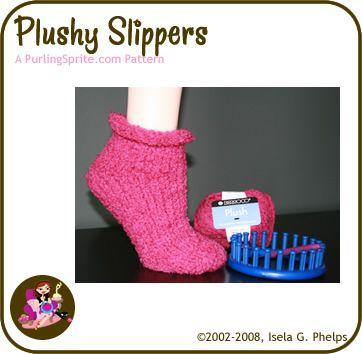 knitting loom sock patterns