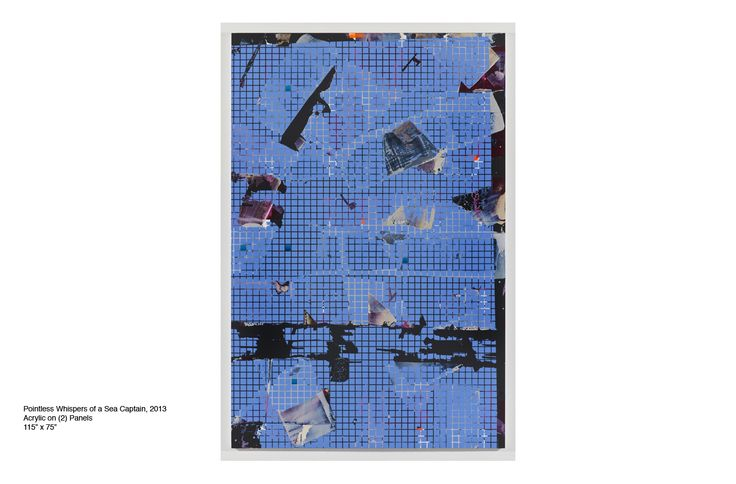 BRITTON TOLLIVER http://www.widewalls.ch/artist/britton-tolliver/ #abstract #painting #contemporary #art