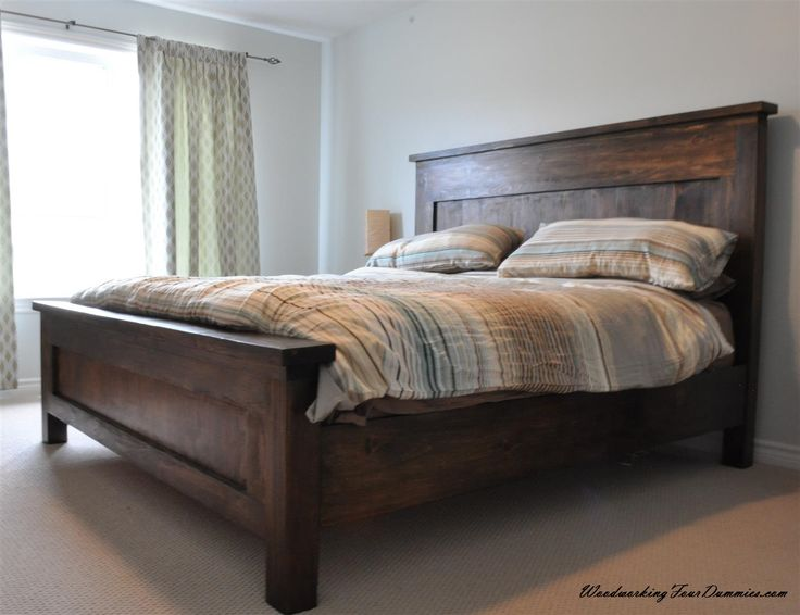 Best King Beds Ideas On Pinterest Diy Bed Frame Oak Bed