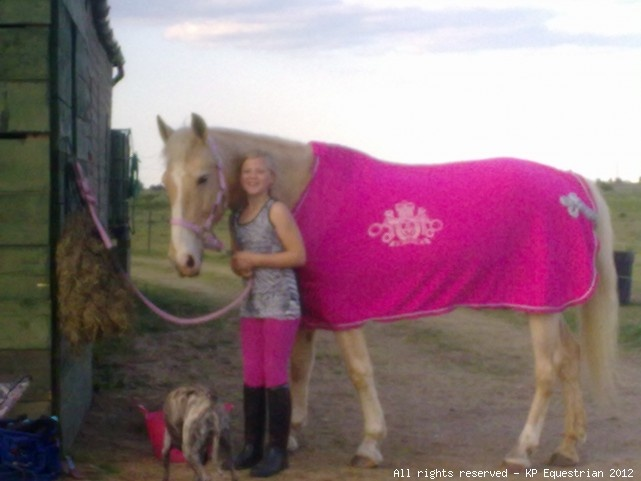 Katie Price Equestrian Collection Fleece Rug