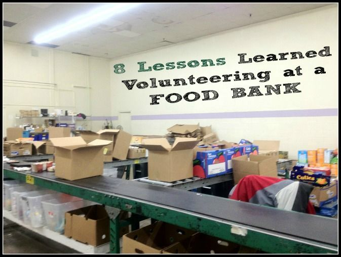 Can you donate expired food to a food bank? Where is the nearest food bank for donations? 8 Lessons I Learned Volunteering at a Food Bank you need to know.