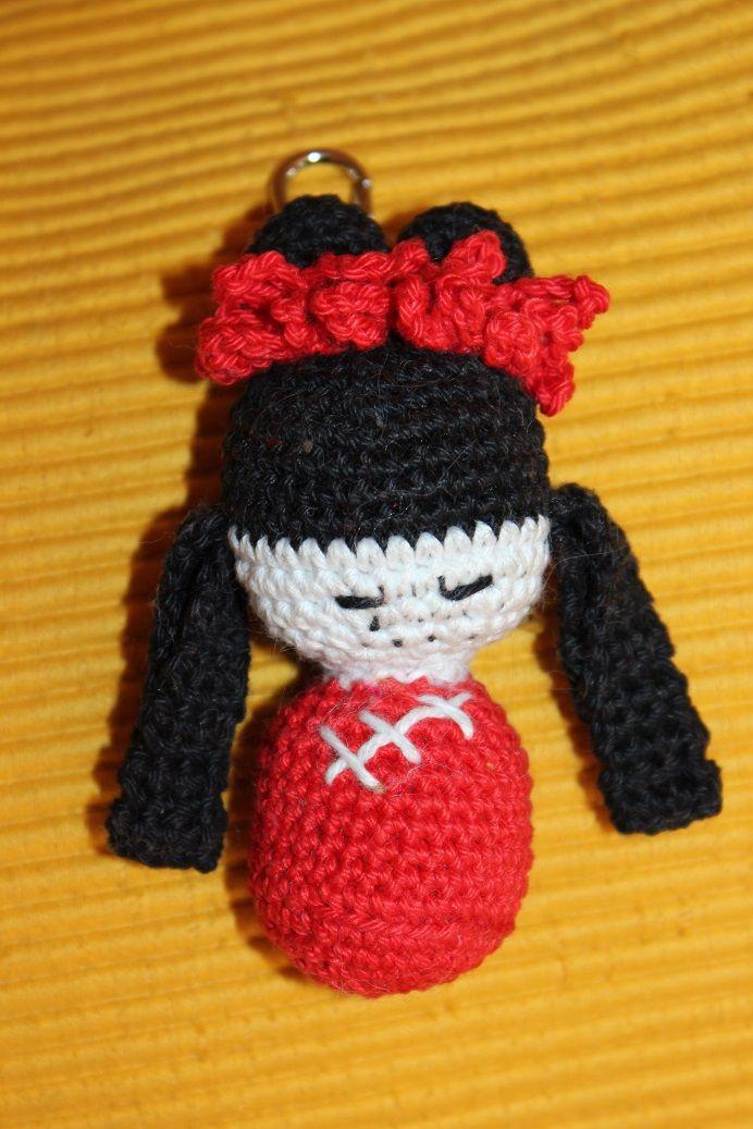 Schlüsselanhänger Little Chines Girl <3
