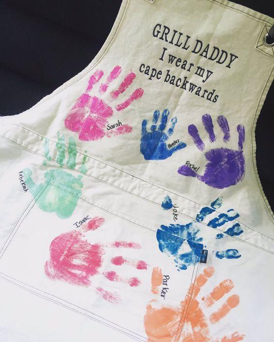 Great Gift for Dad! #ThirtyOneGifts #GatherTogetherApron #PersonalizationStudio