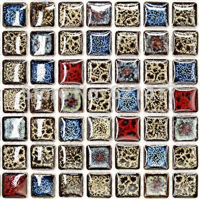 US $160.73 / партия Отполированные плитки фарфора мозаика кухня backsplashl плитка HMCM1009G пол в ванной комнате плитка керамическая настенная плитка