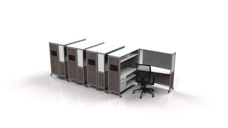 Bob-Mobile Office in a Box - 4 pack - www.fluidgroup.com