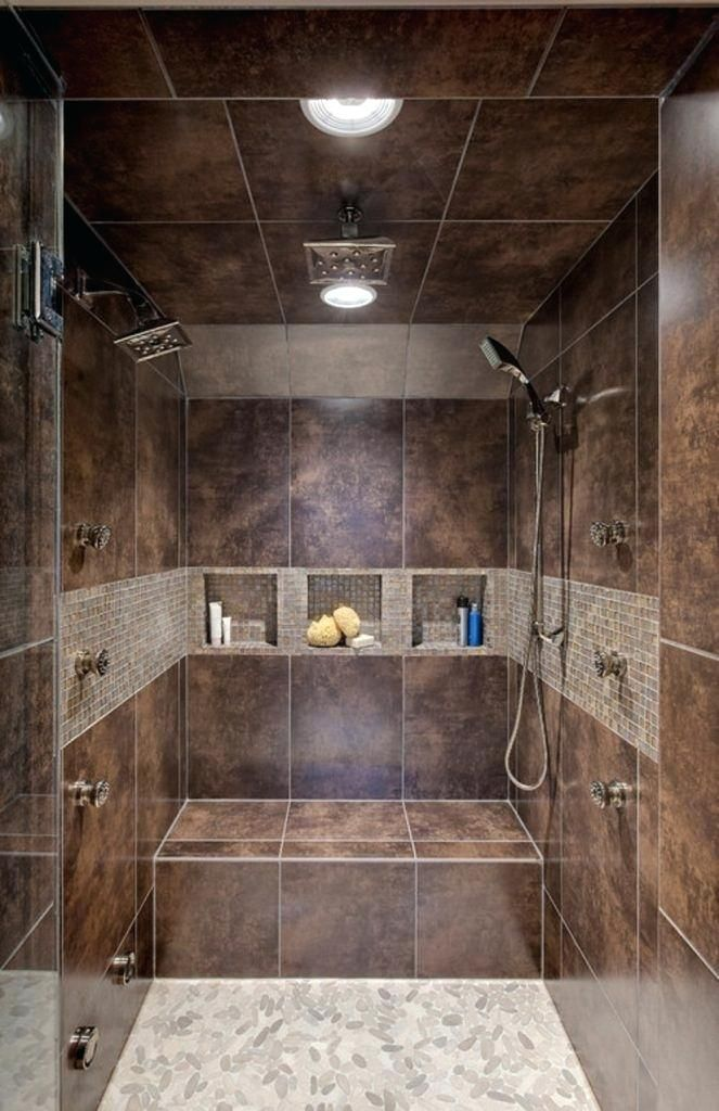 Walk In Showers With Seat Bathroom