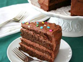 Νηστίσιμη τούρτα σοκολάτας!Ιδανική για γενέθλια και γιορτές που πέφτουν μέσα στη Σαρακοστή Η εκτέλεση της συνταγής είναι πολύ εύκολη και η γεύση της είναι απλά φανταστική. Την συνιστώ ανεπιφύλακτα!!! Υλικά Για το παντεσπάνι Φαρίνα ΓΙΩΤΗΣ 1 ποτήρι νερού Ζάχαρη 1