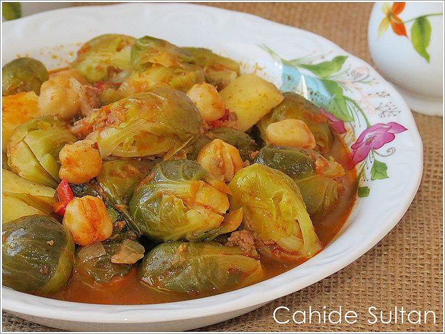 brüksel lahanası yemek