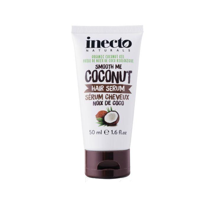 Inecto Naturals Coconut hårserum 100 % ekologisk kokosolja. Veganvänlig! Köp hos Ecoliving.se