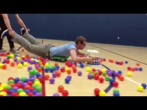 Human Hungry Hippos  ( or use balloons!!!!!)