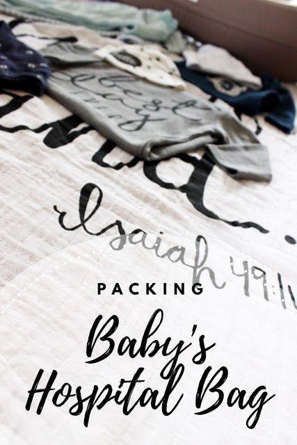 Packing Baby's Hospital Bag; Hospital bag must haves; baby bag; Jujube bag; Modern Burlap Swaddle
