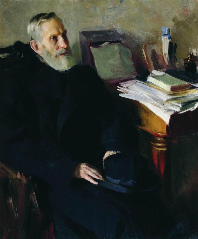 Portrait of Stjepan Nikolsky, uncle of the artist (1901)