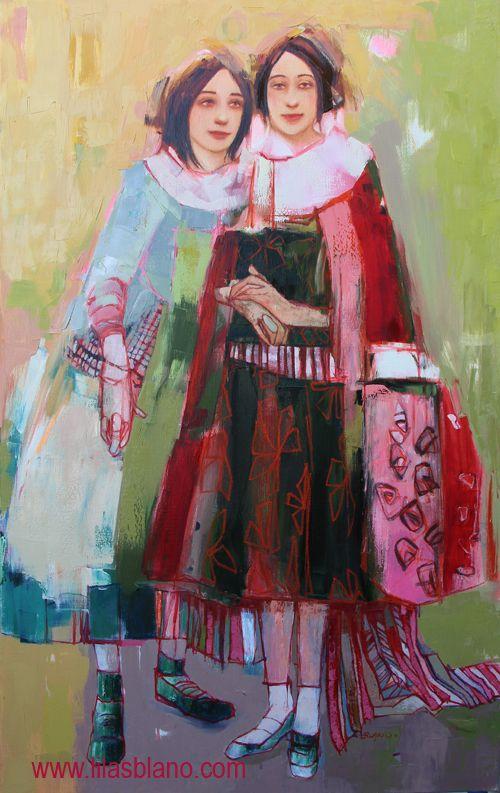 Des Capes et des Pieds 120 x 75 cm      By Lilas Blano