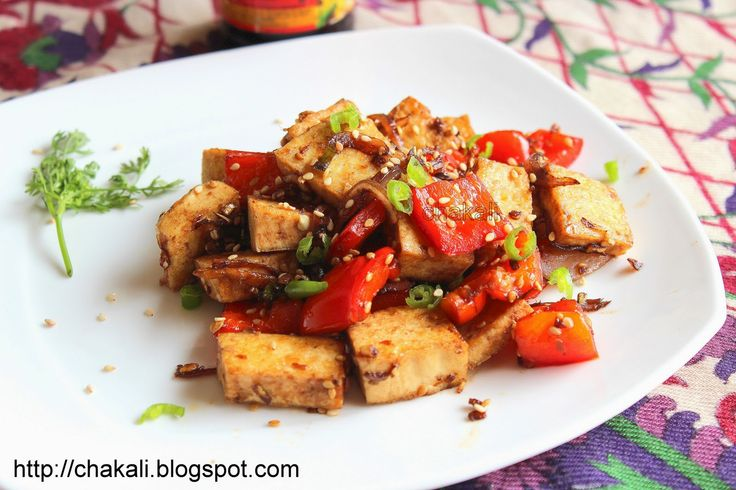 Sesame Honey Tofu | चकली