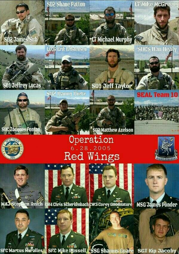 Saw the video on YouTube about what actually happened that day,  I cried throughout, so heartbreaking.. RIP all the heroes form the Operation Red Wings