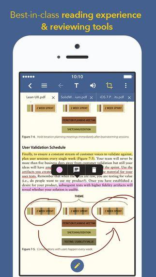 PerfectReader Pro - PDF & Document Reader for Adobe Acrobat & Microsoft Office truong Nguyen Ngoc 제작 pdf 리더 깔끔한 디자인