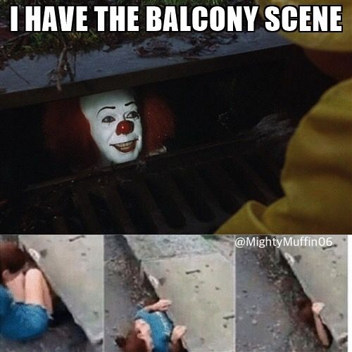 Credit: @MightyMuffin06 I WANT THE BALCONY SCENE ALREADY