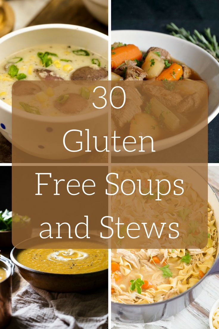 These #glutenfree soups and stews are perfect for Fall!