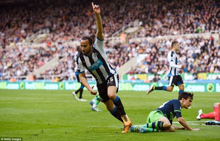 Andros Townsend capped a superb individual performance by scoring the final goal in Newcastle's 3-0 win over Swansea